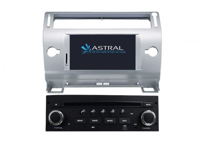 Auto 8GB Car Raido Citroen DVD Player / Navigation System in Italian , 1024 x 600 pixels Screen