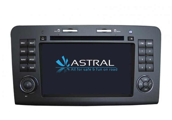 BENZ ML GL 2 Din Car DVD Player 1080P HD Bluetooth car radio navigation system