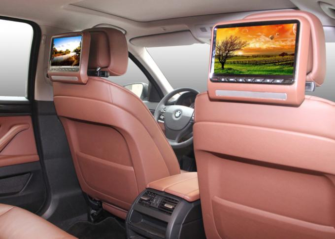 Detachable Car Back Seat Dvd Player With 9inch Lcd Screen