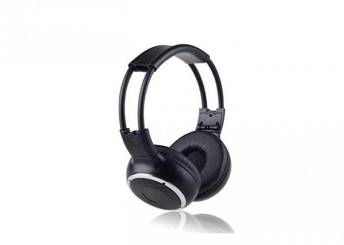 Dual Channel In Car IR Headphone Foldable for headrest DVD player