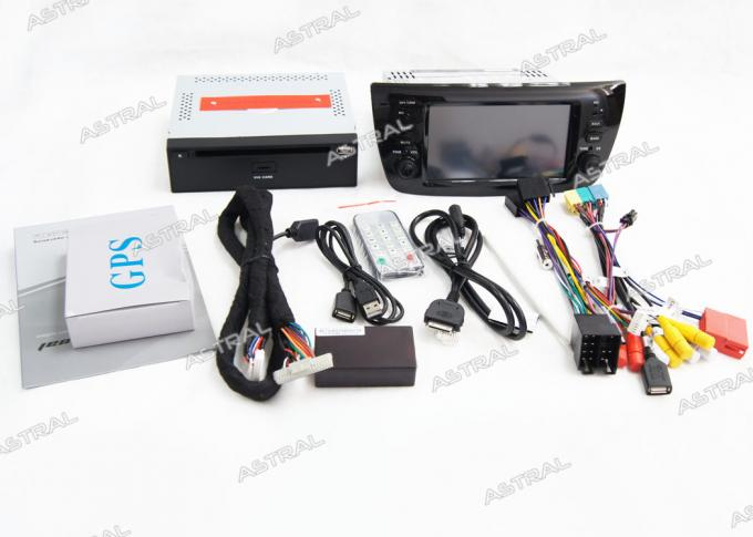 Automobile multi-Media Doblo Opel Combo FIAT Navigation System with TV Bluetooth GPS