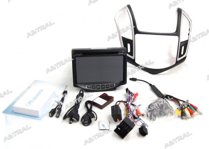 Auto 1080P HD CHEVROLET Cruze 2014 Navigation System with GPS / BT / iPod / TV / SWC