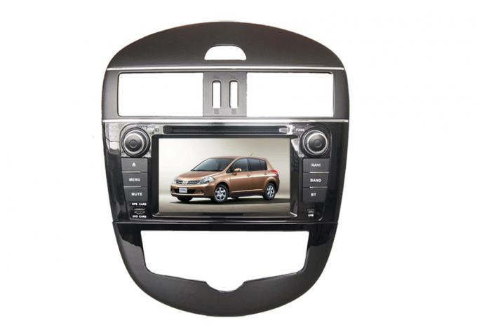 Double din car dvd player with radio wifi touchscreen for nissan tidda