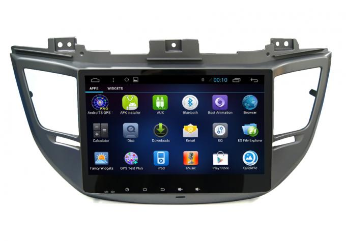 HD 1024*600 Touch Hyundai Dvd Player , Tucsonix35 2016 In Dash Car Stereon Radio Gps