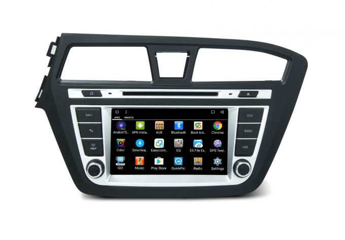 Hyundai i20 2013 left car in dash gps radio navigation android Octa Core 7.1 RAM 2GB Flash Memory 32GB