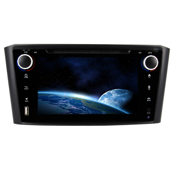Multimedia TOYOTA GPS Navigation 7.0 Inch Stereo Radio With DVD SWC Mirror - Link