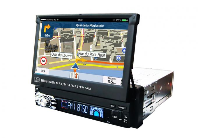 Universal Car GPS Navigation System 7.0 Inches Muti Languages Support OBD