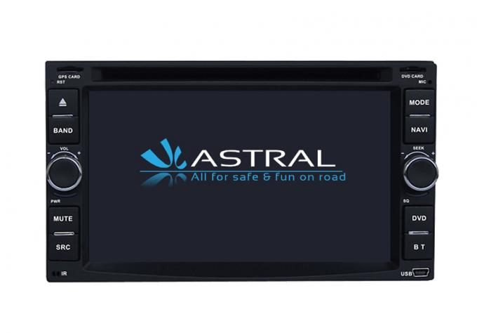 Central Multimidia Car DVD Player With Electronic / Mechanical Anti - Shock System