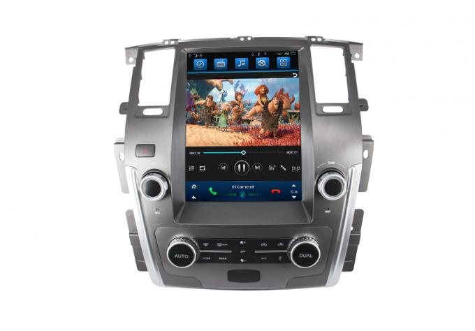 Nissan Patrol GPS Navigation System With 12.1 Inch Tesla Display Screen / Bluetooth