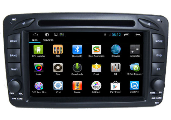 China 2 Din Car Radio Player Mercedes GPS Search Navigation Benz W209 supplier