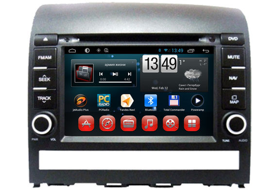 China In Dash Stereo Radio Player Plio Fiat Navigation System Quad Core DVD GPS Wifi supplier