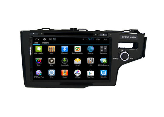 China Android Car Radio GPS Multimedia Honda Navigation System Fit 2014 Right DVD Player supplier