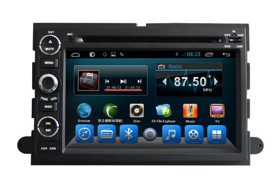 China Android Car Multimedia GPS FORD DVD Player For Explorer Expedition Mustang Fusion supplier