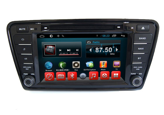 China Android Car Dvd MP3 MP4 Player VW GPS Navigation System Skoda Octavia A7 Car supplier