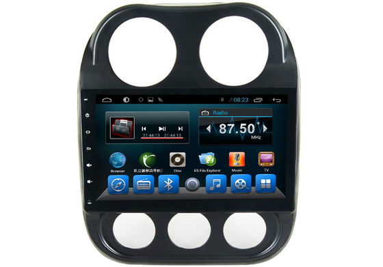 China JEEP 2016 Quad Core Central Multimidia GPS Car Audio Player Android 4.4 System supplier