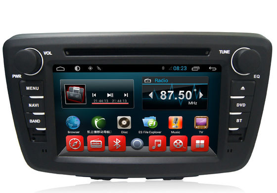 China Quad Core android car navigation system for Suzuki , Built In RDS Radio Receiver supplier