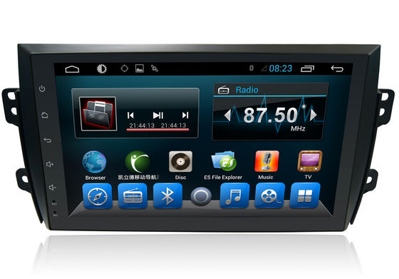 China Automotive Stereo Bluetooth GPS SUZUKI Navigator with 4G / 8G / 16G EMMC Memory supplier