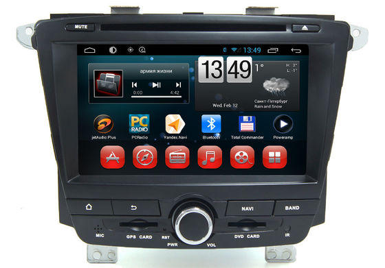 China Roewe 350 7.0 inch 2 Din Central Multimidia GPS With Android 4.4 Operation System supplier