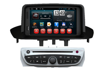 China Android 4.4 OS GPS Radio Tv Double Din Car DVD Player For  Megane 2014 supplier