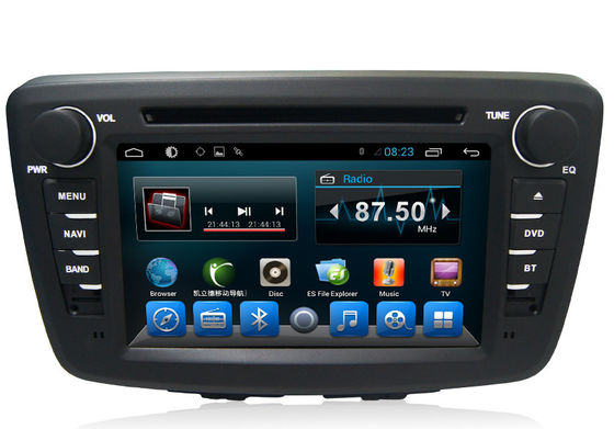 China Quad Core 7 Inch SUZUKI Navigator Car Multimedia Player For Suzuki Baleno supplier