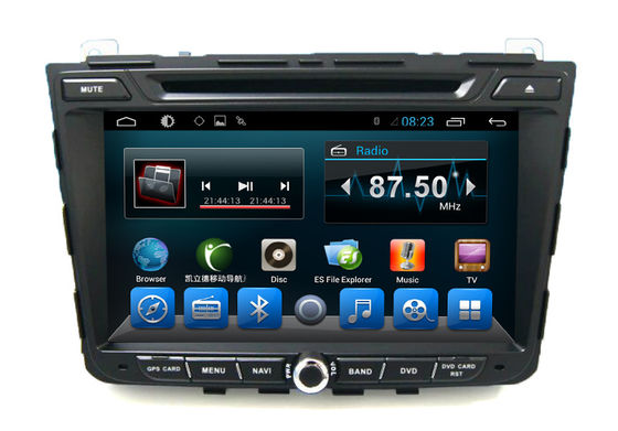 China Quad Core 8 Inch Car GPS Navigation HYUNDAI DVD Player for IX25 Stereo Radio supplier