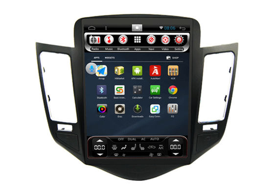 China Car Gps Navi Android CHEVROLET GPS Navigation Quad Core System Car Radio For Cruze supplier