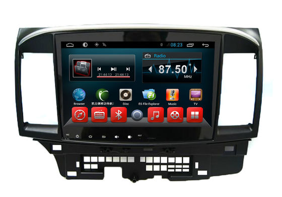China Auto Radio GPS Navigator For  Mitsubishi Lancer EX Android Quad Core System supplier