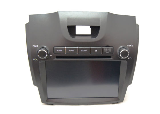 China Double Din Car Dvd Player Chevrolet GPS Navigation for S10 Steering Wheel Control supplier