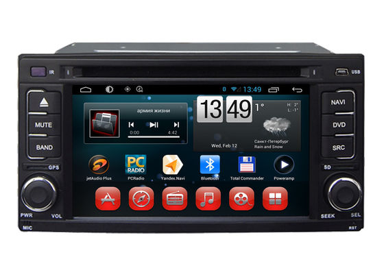 China Android 6.0 System Double Din Car Dvd Player Subaru Impreza / Forester 2008 2010 supplier