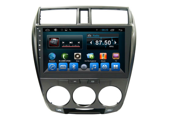 China Double Din Honda Navigation System , Multimedia Car Stereo 3G Wifi City 2008-2013 supplier