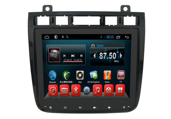 China Android 6.0 Auto VW Double Din Gps Radio , Dvd Gps Car Stereo Touareg 2010-2016 supplier
