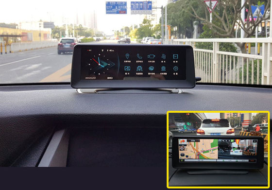 On Dash Car DVR Car Reverse Parking System Buit In Gps Navigation with ADAS 8 Inch Screen