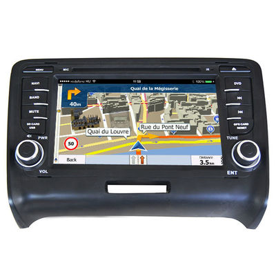 China Audi Car Dvd Player / Car Navigation Systems In Dash Receivers For TT 2006-2014 supplier