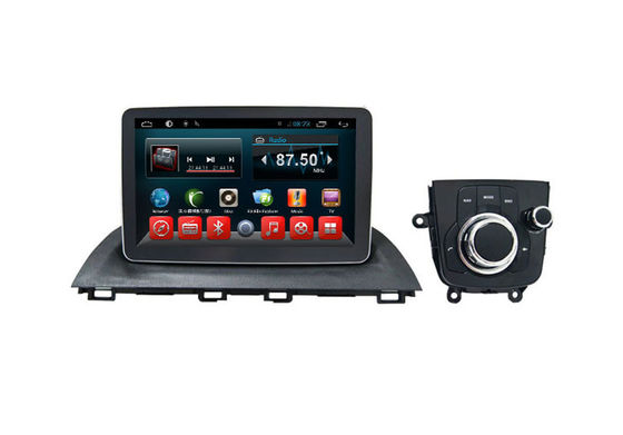 China Radio Bluetooth In Dash Double Din Multimedia Navigation System Mazda 3 2014-2017 supplier