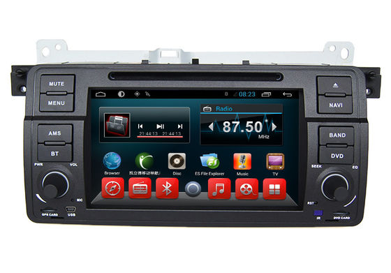 China In Dash Car Gps Navigation System , BMW DVD Players E46 M3 Z3 Z4 Rover 75 MG ZT 1998 - 2005 supplier