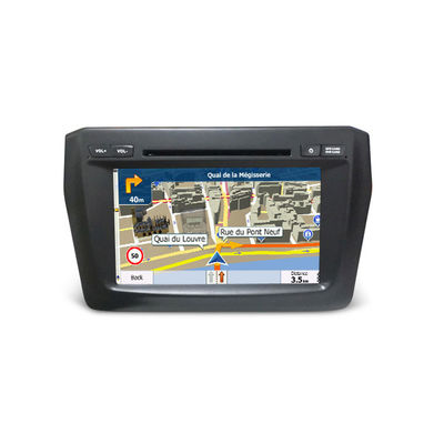 China Double Din Car Video / Car Monitor Suzuki Navigation System Dvd Player Swift 2017 supplier