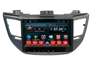 China HD 1024*600 Touch Hyundai Dvd Player , Tucsonix35 2016 In Dash Car Stereon Radio Gps supplier