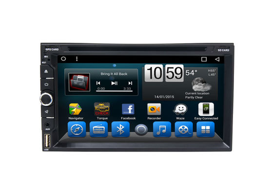 Universal Central Multimidia Navigation GPS System Automobile DVD Players with Big USB