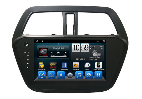 China Android 7.1 Car Dvd Player Suzuki Navigator Bluetooth Radio Suzuki Scross 2014 supplier