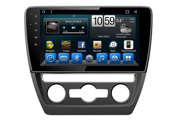 China Vw GPS Auto Navigation Systems Touchscreen Car DVD Volkswagen Sagitar 2015-2017 supplier