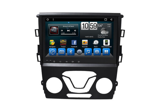 China Mirror Link Double Din Stereo With Navigation , Touch Screen Navigation Mondeo 2013- supplier