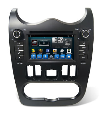 China Autoradio  Logan Car Multimedia Navigation System 6.2 inch Touch Screeen supplier