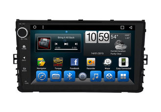China OEM In Dash VolksWagen Dvd Gps Navigation System Glonass Android 9 Inch supplier