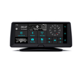China DVR WIFI BT FM CAMERA Car GPS Navigation System IPS Capacitive Touch Screen supplier