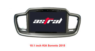 China Android 4.4/6.0 KIA DVD Player 1080P HD Video Built In GPS Navigation / Bluetooth supplier