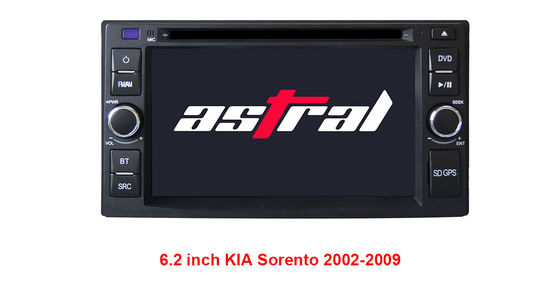 China Android 6.2 Inch KIA DVD Player , Stereo Radio Multimedia Navigation System supplier