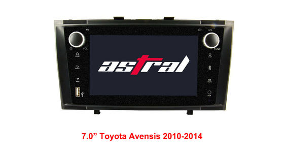 China 7.0 Inch TOYOTA GPS Navigation Android Built - In Hands - Free Bluetooth supplier