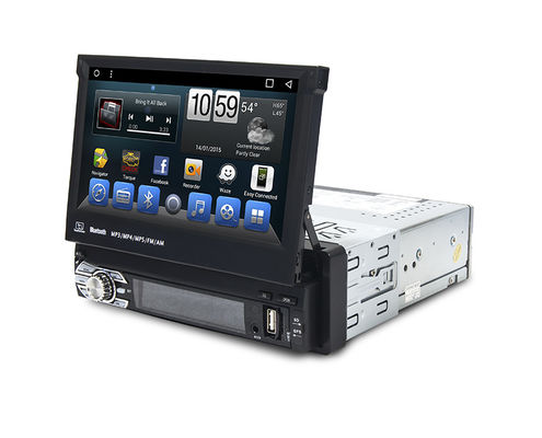 China Universal Car GPS Navigation System 7.0 Inches Muti Languages Support OBD supplier