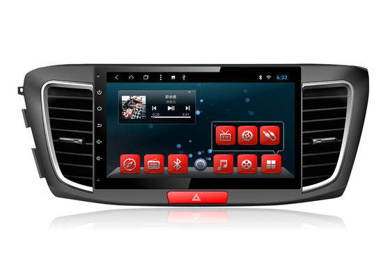 Quad / Octa Core HONDA Navigation System , GPS Navigation System WIFI For Android IOS