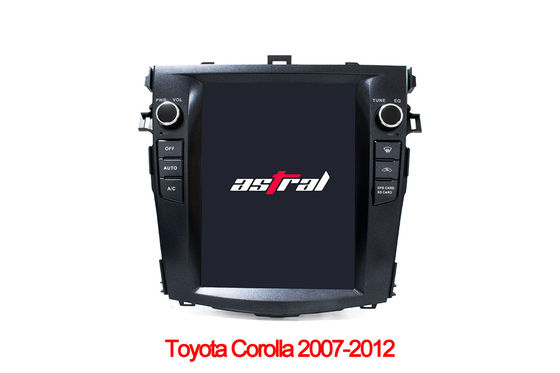9.7 Inches Toyota Corolla 2012 Vertical Screen Single Din In Dash Navigation System With Mirror Link